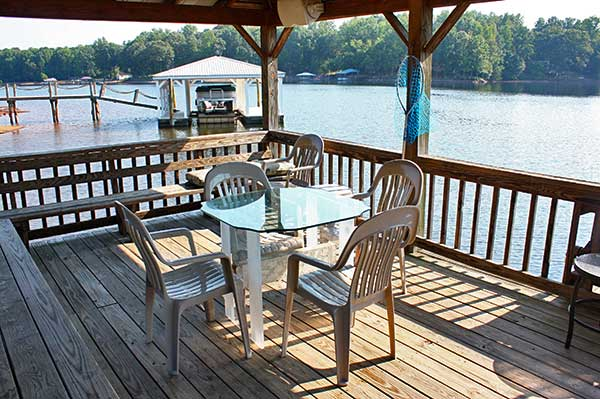Lake Norman Vacation Home dock