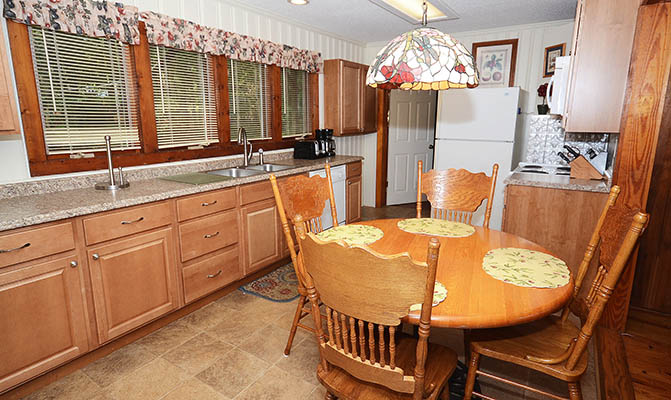 Lake Norman Vacation Rental Home Kitchen