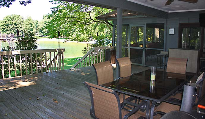 Lake Norman Deck