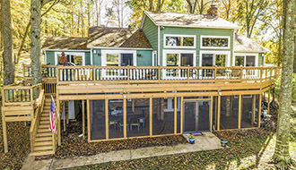 Zen Lodge Lake Norman Vacation Rental Home